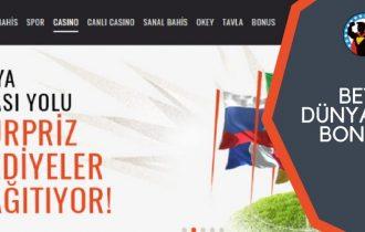Betboo dünya kupası bonusları
